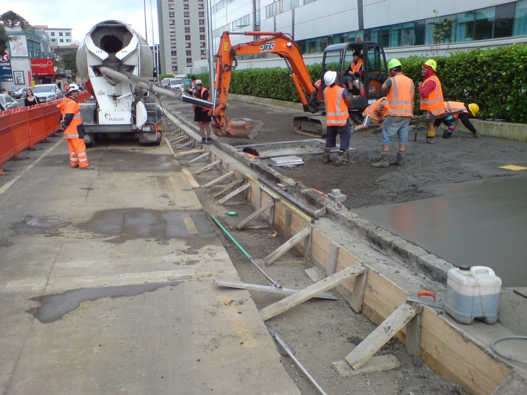 concrete tacoma paving
